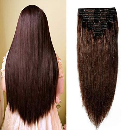 Klip-in príčesok z pravých vlasov